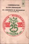 Comm�moration du XXVe Anniversaire de l'Universit� de Madagascar