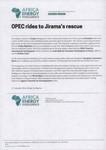 OPEC rides to Jirama's rescue