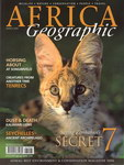 Front Cover: Africa Geographic: March 2007; Vol....