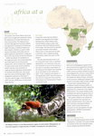 Article: Africa Geographic: August 2008; Vol...