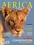 Front Cover: Africa Geographic: August 2008; Vol...
