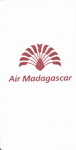Front View: Air Madagascar Airsickness Bag: Red...