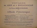 Back Cover: Voyages en Asie et à Madagascar 188...