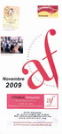 Front Cover: Novembre 2009: Alliance Française, ...