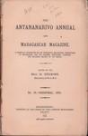 The Antananarivo Annual and Madagascar Magazine No. IV – Christmas, 1878