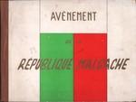 Front Cover: Avènement de la République Malgache...