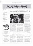 First Page: Azafady News: October 2000