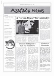 First Page: Azafady News: April 2001
