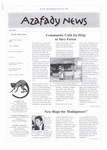 First Page: Azafady News: April 2003