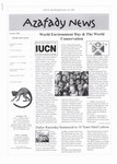 First Page: Azafady News: October 2003