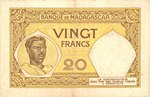 Back: Vingt Francs