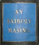Spine Detail: Ny Baiboly Masina na ny Soratra Mas...