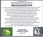 Back Cover: CD Introduction to Bird Song & Lemu...