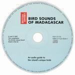 CD Face: Bird Sounds of Madagascar: An audio...
