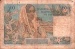 Back: Cinq Cents Francs