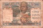 Front: Cinq Cents Francs