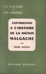 Contribution � l'Histoire de la Nation Malgache