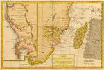Carte du Canal de Mosambique