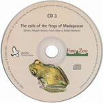 CD Face: The Calls of the Frogs of Madagasca...