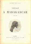 Titlepage: Voyage ? Madagascar: 1889-1890