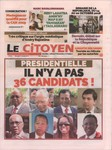 Front Cover: Le Citoyen: No 776; Mercredi 17 Oct...