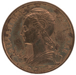 Back: 10 Franc Coin