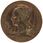 Back: 20 Franc Coin