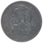 Back: 5 Franc Coin