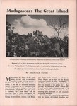 First Page: Madagascar: The Great Island