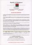 Front: Visa and travel information: Madaga...