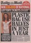 Front Cover: Daily Mail: Thursday, August 1, 201...
