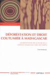 Front Cover: D�forestation et Droit Coutumier � ...
