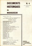 Documents Historiques de Madagascar