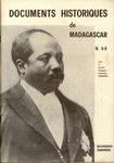 Front Cover: Documents Historiques de Madagascar...