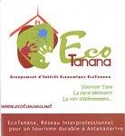 Front: EcoTanana: Valoriser Tana; La faire...