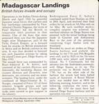 Back: Madagascar Landings: 1942