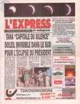 Front Cover: L'Express de Madagascar: No. 1916 (...