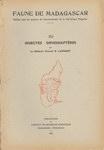 Front Cover: Faune de Madagascar: XV: Insectes: ...
