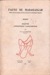 Front Cover: Faune de Madagascar: XXXIV: Insecte...