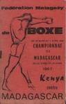 Front Cover: F?d?ration Malagasy de Boxe: Du 25 ...