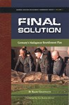 Front Cover: Final Solution: Germany's Madagasca...