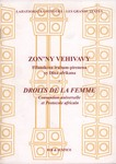 Front Cover: Zon'ny Vehivavy / Droits de la Femm...