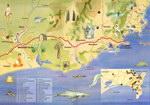 Inside (Open): Fort Dauphin: La carte touristique ...