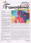 Front Cover: Francophonie 2016: Numéro 1; Dimanc...