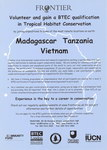 Madagascar, Tanzania, Vietnam