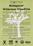 Madagascar Wilderness Expedition
