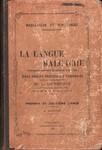 La Langue Malgache