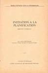 Front Cover: Initiation ? la Planification: Appl...