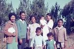 Deputy headteacher Monsieur Radan and his family