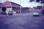 Street scene and market